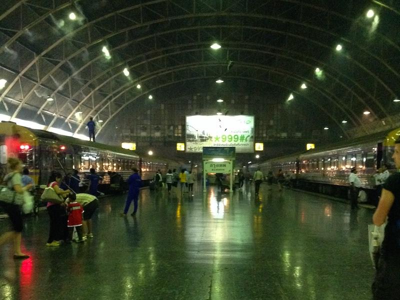 タイ旅行記3日目:バンコクから寝台列車でチェンマイへ移動
