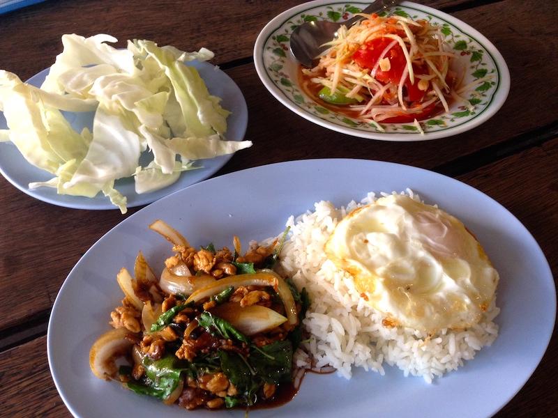 チェンマイの食堂