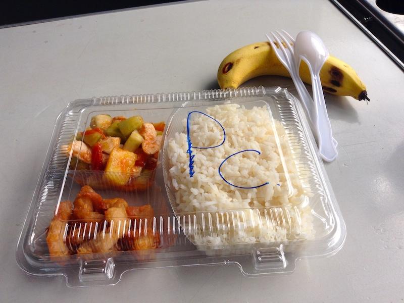 タイ国鉄のご飯