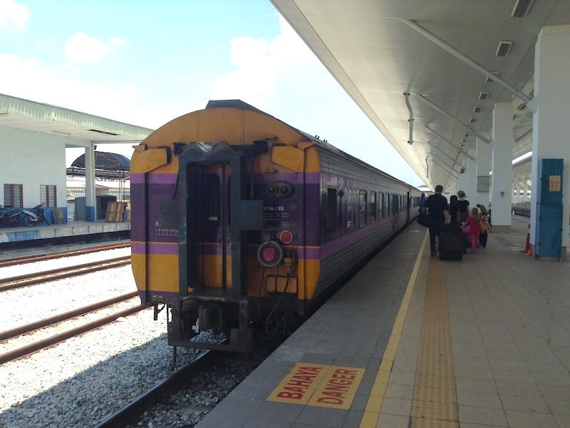 マレーシアから鉄道でタイへ