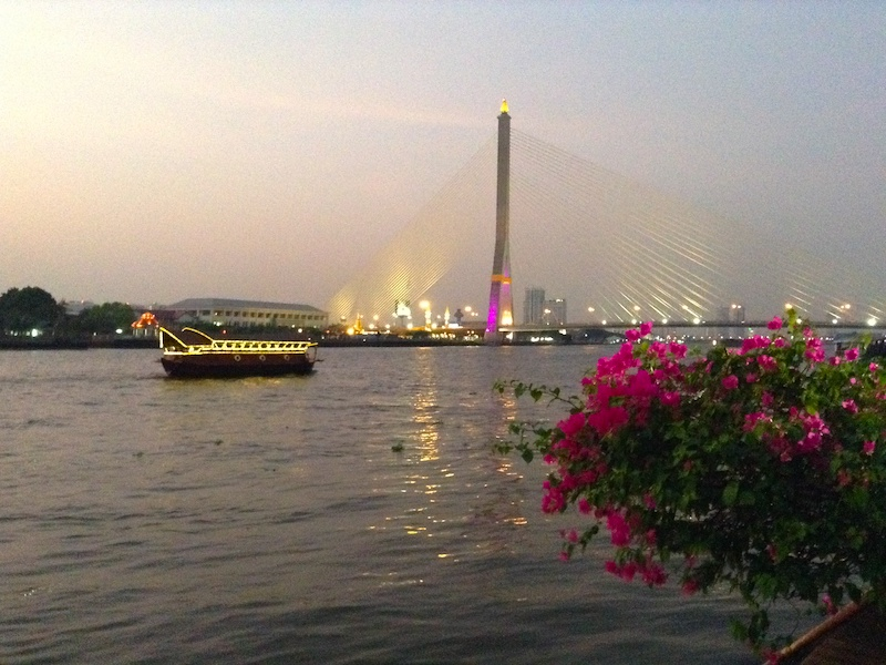 バンコクの夕方