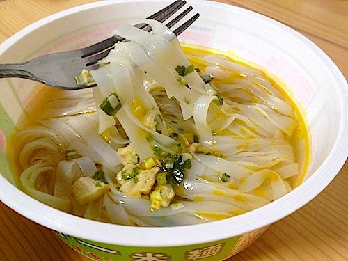 ベトナムフォーカップ麺完成