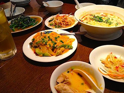 高円寺でタイ料理