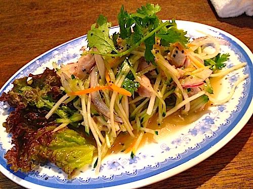 ベトナム料理パパイヤサラダ