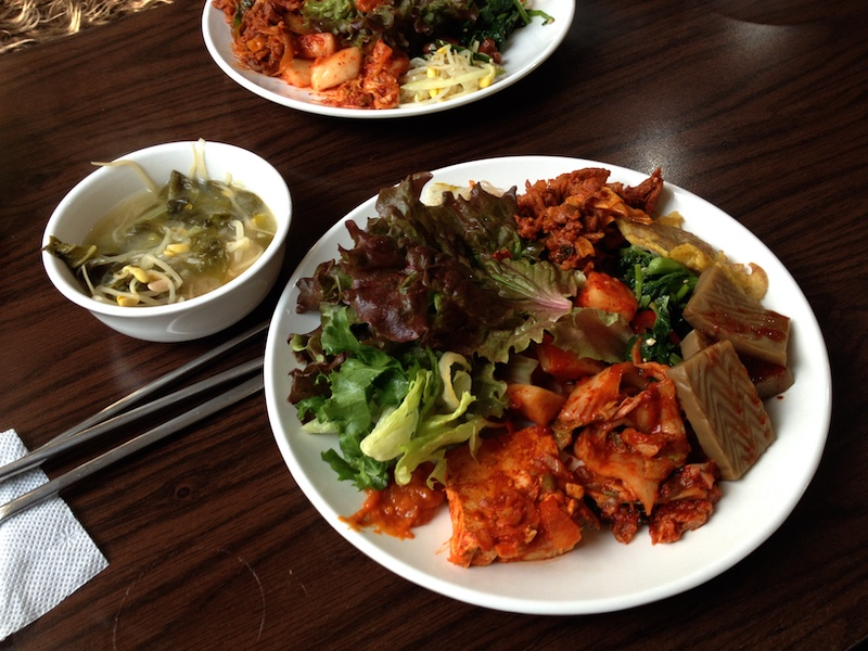 ソウル5日目:韓屋(ハノク)宿泊体験&野草の韓定食を食べる
