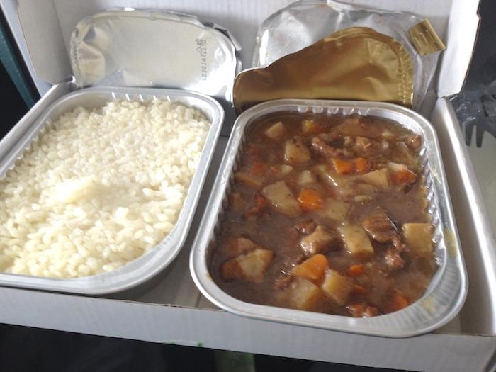 春秋航空の機内食