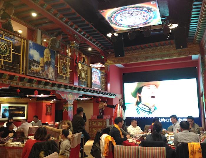 上海でチベット料理