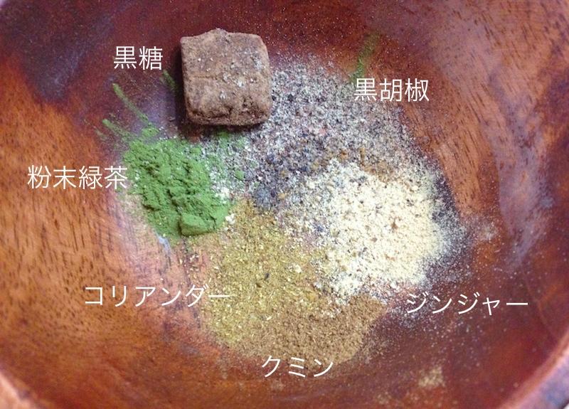 生姜とスパイスの風邪予防茶
