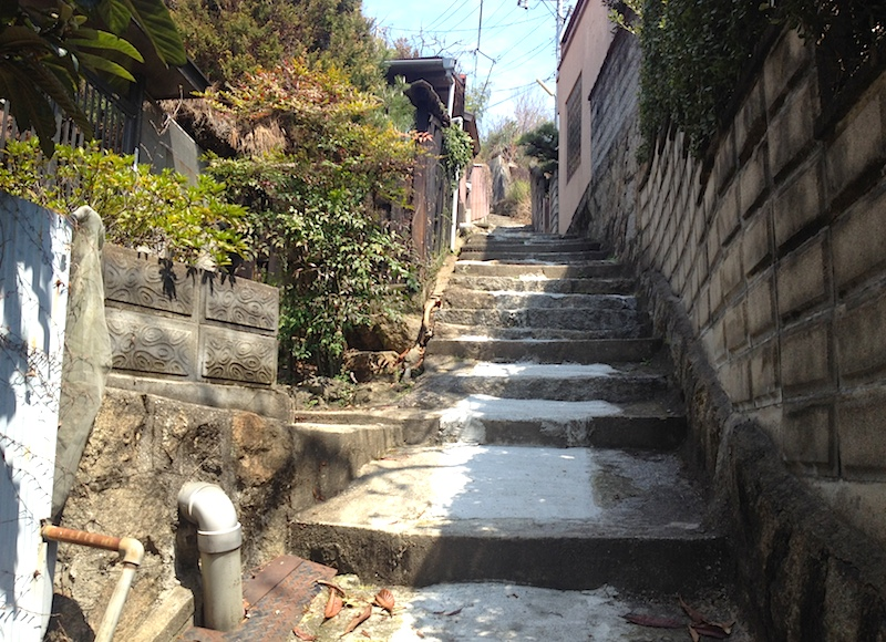 尾道の坂道