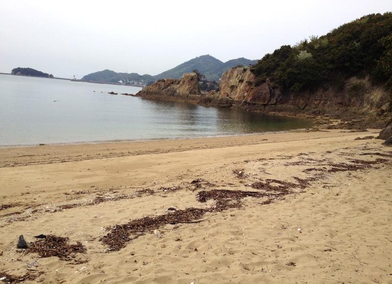 仙酔島ビーチ