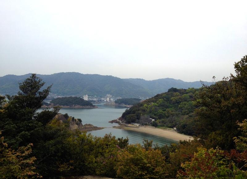 仙酔島からの眺め