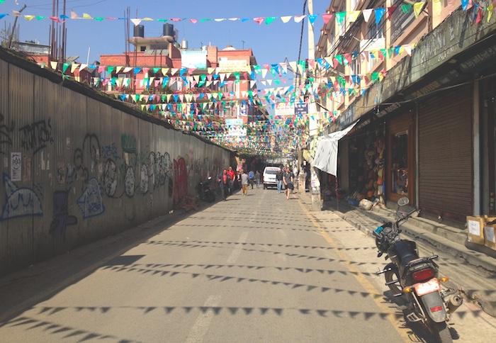カトマンドゥの街