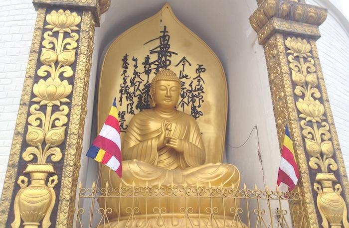 日本山妙法寺の仏像