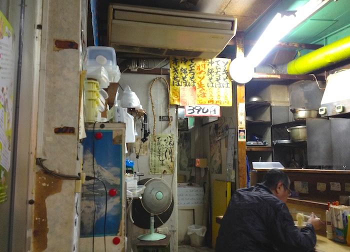 国際通りの沖縄そば屋