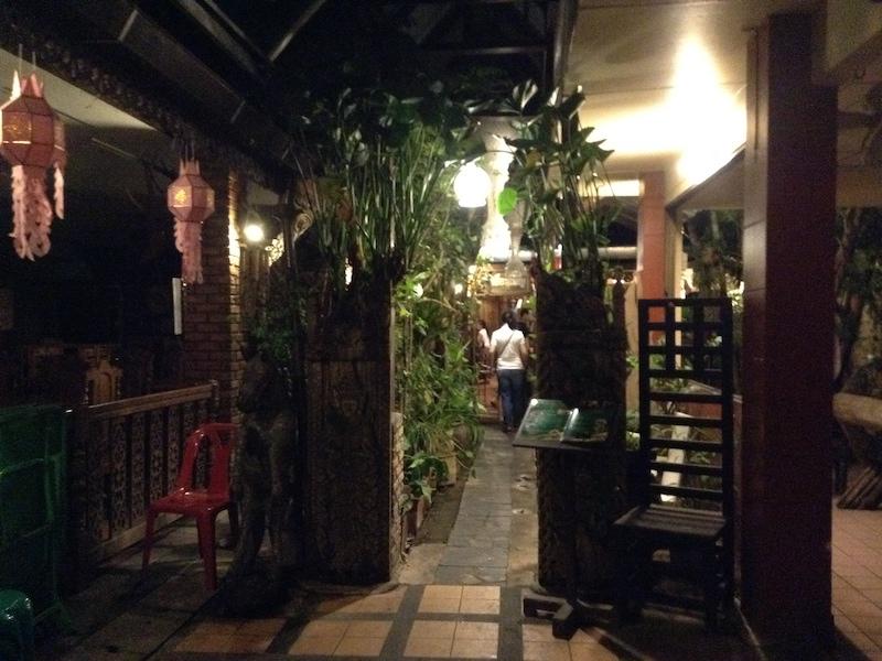 チェンマイのレストラン