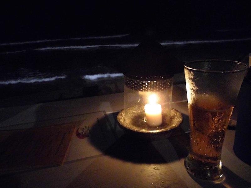 夜のチャングービーチ