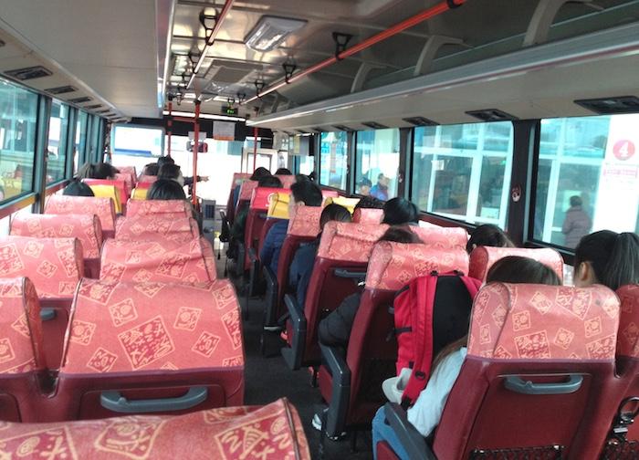 済州島市外バス