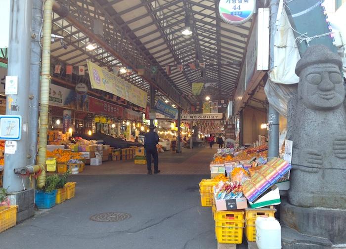 済州島の市場