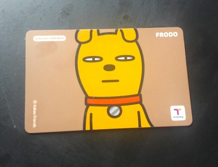 カカオフレンズT-moneyカード