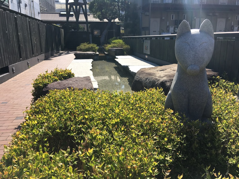 湯田温泉の温泉舎