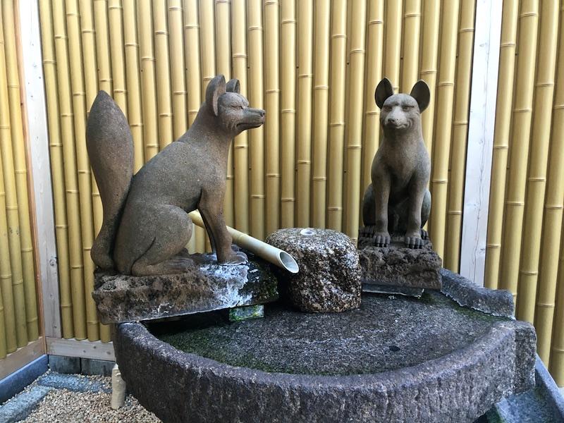 湯田温泉の足湯